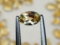 CITRINE GEM OVAL CUT 6x4mm YELLOW GENUINE GEMSTONE NATURAL LOOSE FACETED 1/2 CT
