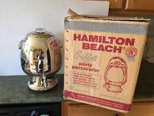 VTG Hamilton Beach Stainless Steel 15-35 Cup Coffee Percolator Model #21cm Box