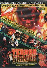Terror Firmer 2 Disc DVD Troma Lloyd Kaufman Low budget horror 1999