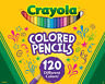 Crayola Colored Pencils, No Repeat Colors, School Supplies, 120 Count, Gift
