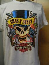 Harley-Davidson T-Shirt Herren weiß  XXL  GUNS N' ROSES Barbed OHNE Dealer Logo