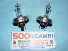 FIAT 500 F/L/R 126 COPPIA LAMPADA R2 FARO LAMPADINA FANALE P45T 12V 45/40W OSRAM