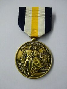 (A52-8) US State of New York Civil Medal in Service in Aid of Civil Authorities