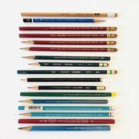 VTG DRAWING DRAFTING PENCIL LOT ~ EBERHARD FABER, ART-GUILD, VENUS, EAGLE, RARE