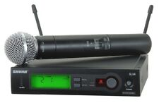 Shure SLX SM58 Wireless System   L4  638-662 MHz     Ex-Demo