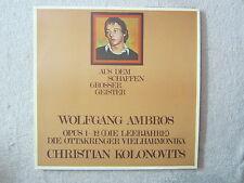 LP / WOLFGANG AMBROS / OPUS1-12 / AUSTRIA / RARITÄT /