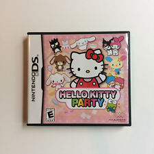 Hello Kitty Party (Nintendo DS, 2009) complete CIB video game