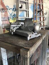 ~Vintage~ Industrial / Commercial Hobart Hand Meat Slicer Working