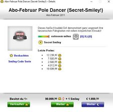 Knuddels.de Smiley Pole Dance (Secret Smiley)