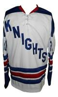 Any Name Number Size Omaha Knights Custom Retro Hockey Jersey White