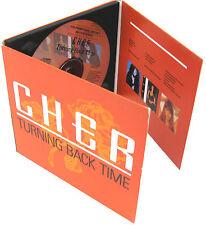 CHER CD Turning Back Time Rare UK 11 Track UK PROMO ONLY Gatefold Sleeve MINT 91