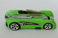 Hot Wheels Monoposto Vintage Toy Car Diecast Green #3 Racecar Turbo JC3 2000