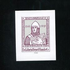 EXLIBRIS,287a, P. Schlechter Wenceslav