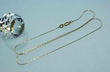 50 cm HALSKETTE GOLDKETTE 18 KT SCHLANGENKETTE 750 GOLD NEU für  DAMEN + HERREN
