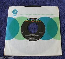 Roy Orbison 1967 MGM 45rpm Pistolero b/w Cry Softly Lonely One Fastest Gun Alive