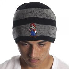 9bff0e574cb27 Official Nintendo SUPER MARIO BROS Beanie Winter Hat Men Women Knit Ski Cap  COOL
