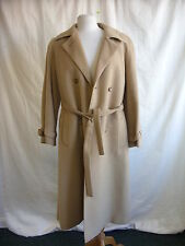 Ladies Coat - Windsmoor, size 14, camel, wool and camel blend, used, belted 2123