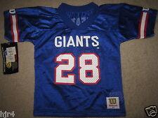 Tyrone Wheatley #28 New York Giants Wilson NFL Jersey Toddler 3T NEW