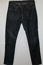 WITCHERY Brand Dark Blue Straight Leg Denim Jeans Size 8 LIKE NEW #AN02