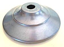 "3"" UNFINISHED STEEL VASE CAP NEW LAMP PART"