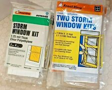 Frost King Clear Polyethylene Storm Window Kits - Buy in Bulk and Save