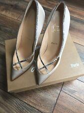 445510a633a68 Christian Louboutin Shoes Size 6 · Christian Louboutin Shoes Size 6.  £350.00 New. £300.00 Used. Christian Louboutin Toot Haute 150 Black Shiny  Shoe BOOTS UK ...