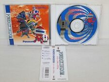 3DO POWERS KINGDOM with SPINE CARD * Real Panasonic Import JAPAN Video Game 3d