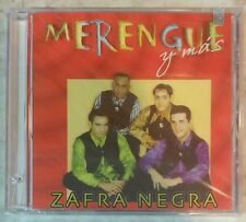 "MERENGUE Y MAS by ZAFRA NEGRA (CD, 1998 - USA -J & N Records) BRAND NEW ""SEALED"""