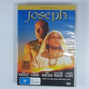 The Bible: Joseph - Ben Kingsley (DVD) Australia Region 4- RARE