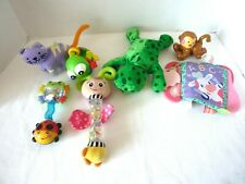 Lot Of Baby Infant Toy Teethers Soft Toys Rattles ~ Fisher Price Chico