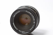 Summicron-R 1:2 / 50mm  Leitz Wetzlar für Leica R