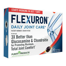 Flexuron Joint Formula by Purity Products 30gels Astaxanthin/Hyaluronic/Krill