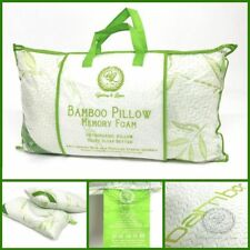 Anti Bacterial Bamboo Memory Pillow Orthopedic Firm Head Neck Back Support 1,2,4