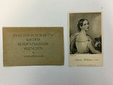 Vtg German Antonia Wallinger Postcard With Envelope