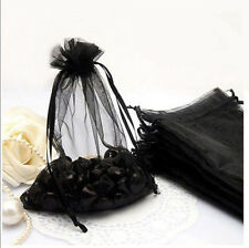 25/50/100Pcs Organza Wedding Party Decoration Candy Bags Pouches Supplies Gift