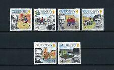 Guernsey   691-6 MNH, Sandhurst Military Academy, 1999