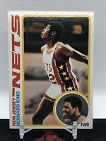 1978-79 Topps BERNARD KING #75 ROOKIE - New Jersey Nets Basketball Card
