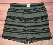 Mens American Eagle Charcoal Black Boxer Shorts Size S (29/31)