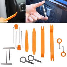12PCS Car Radio Door Clip Panel Trim Dash Audio Removal Pry Kit Hand Tools Set