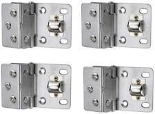 Stainless Steel Shower Glass Door Hinge 90 Degree Pivot Hinge 0.3''-0.4' ' Pack 4