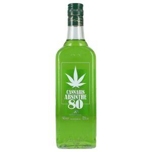 Cannabis Absinth 80 70% 0,7 ltr.