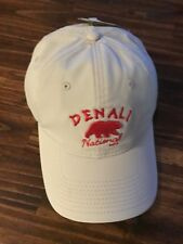 The Game Beige Denali National Park Adjustable Backstrap Baseball Cap Hat (M1)