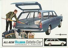 Hillman (Minx) Estate Car Brochure - 1967