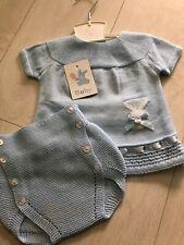 Baby Boy Girls Bunny Knitted Set Spanish Designer