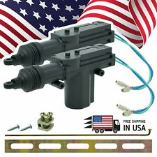 2PCS Universal 2 Wires 12V Car Auto Motor Heavy Duty Power Door Lock Actuator