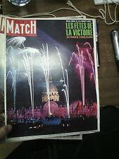 Paris Match n°841 22 mai 1965 les fêtes de la victoire 39-45 john wayne moscou