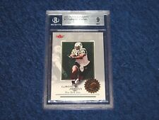 LAMONT JORDAN JETS MARYLAND 2001 FLEER AUTHORITY RC #117 BGS 9 MINT (18GR2)