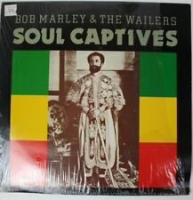 Bob Marley & The Wailers Soul Captives LP 1986 Shrink Vinyl VG+/VG+ Reggae Roots