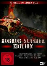 BluRay Horror Slasher Edition mit 6 FSK 18 Filmen NEU!!!