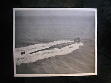 Vintage US Navy B/W 8 x 10 Press Photo USS Robert E Lee SSB (N) 601 Scotland 029
